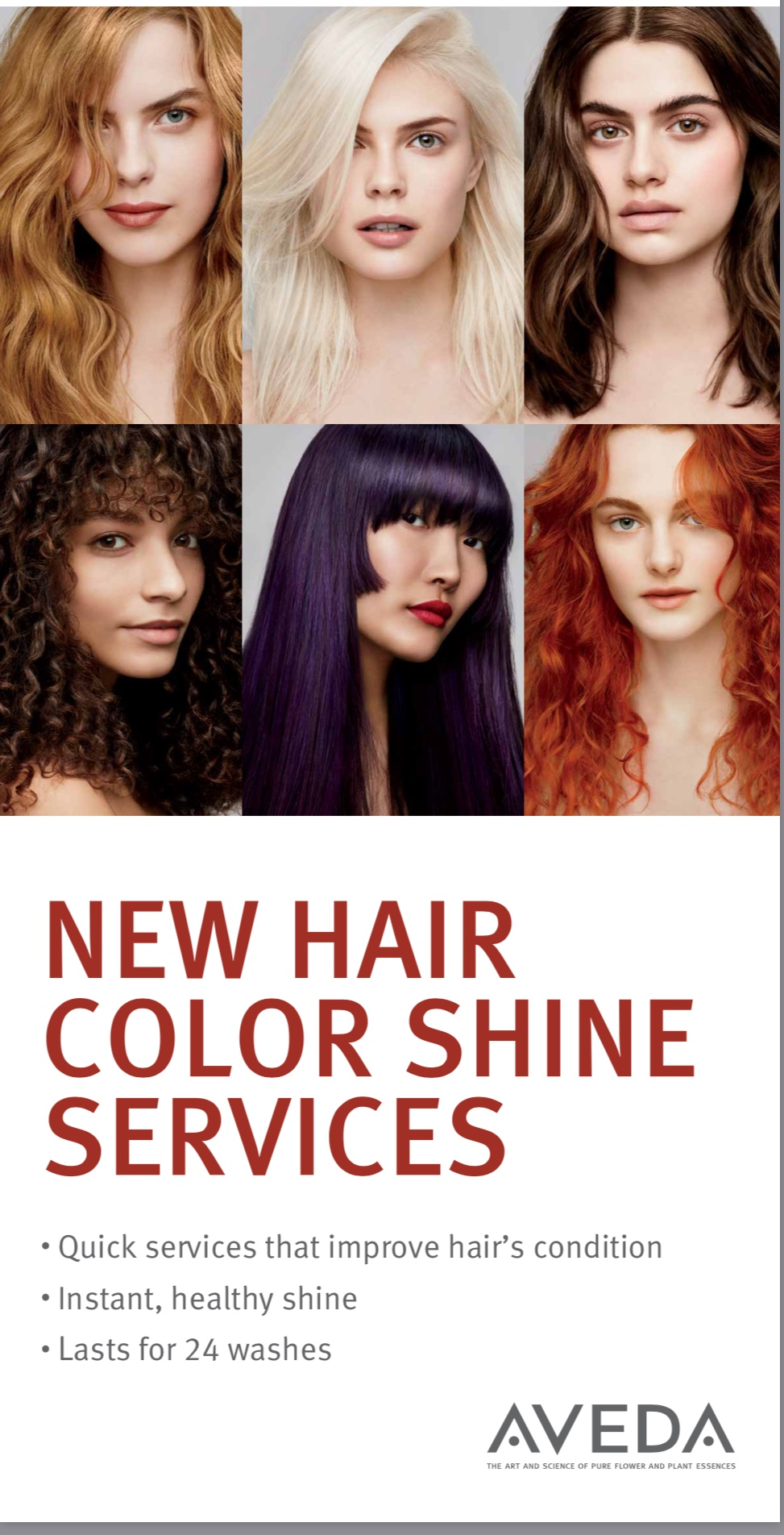Book Your New Aveda Color Shine Today